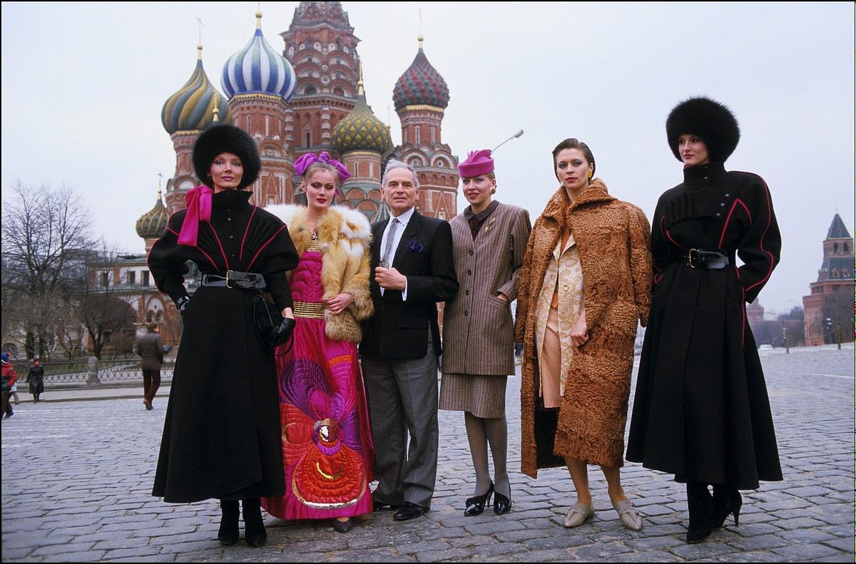 Pierre Cardin v Moskvi 1986.