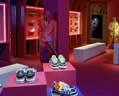 Louis Vuitton: Sprehod po parku