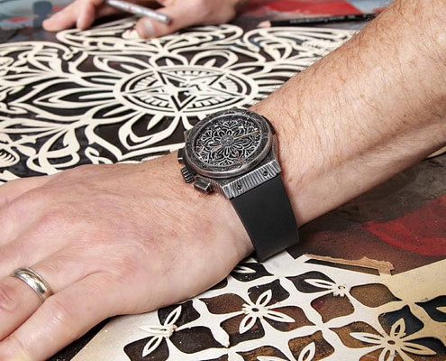 Classic Fusion Chronograph Shepard Fairey